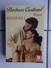 intégrale BARBARA CARTLAND Passions 1 . 5 romans, 843 pages