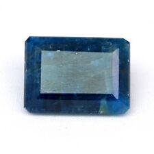 TOP BIG APATITE : 24,66 Ct Natürlicher Blau Apatit aus Brasilien