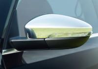 CHROME DOOR MIRROR COVERS CAPS WINGS MOLDING TRIM for VW PASSAT B7 3C 2010-2014