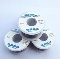 50g Reel 0.8/1.0/1.5mm 63/37 Rosin Core Flux Roll Tin Lead solder Soldering Wire