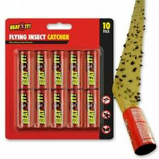 Fly- Catcher-Paper-Sticky-Glue-Insect-Bug-Trap-Killer-Strong-Roll-Tape-Strip