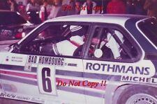 Henri Toivonen Opel Manta 400 Monte Carlo Rally 1983 Photograph 1