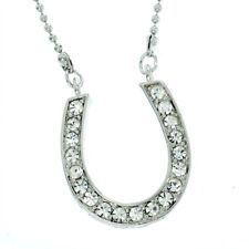 Cute Chic New Pendant Necklace L Horseshoe W Swarovski Crystal Luck Charming