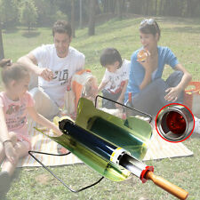 Solar Oven BBQ Grill Barbecue Stove Folding Camping Picnic Heater Kebab Roast