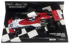 Minichamps TYRRELL FORD 007 1975-Ian SCHECKTER scala 1/43