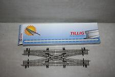 Tillig 83210 Doppelte Gleisverbindung TT neu in OVP