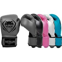Venum Boxing Gloves Contender Sparring Muay Thai MMA Kickboxing 8 10 12 14 16oz