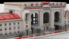 Lego Train Station MOC - Buliding Instructions