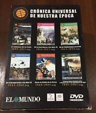 CRONICA UNIVERSAL DE NUESTRA EPOCA DESDE 1890 A 2003 - PACK 6 DVD - EL MUNDO