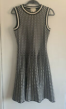 Designer Kate Spade Black & White Dress Size S 8/10/12 Skater