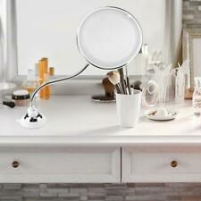360 Degrees 10X Folding Rotating Makeup Mirror LED Magnifying Vanity Mirror Best