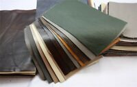 5PCS Thick Leather Pieces Premium Genuine Cowhide Scrap Upholstery Craft 20x30cm