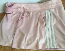 Adidas Clima365 Shorts ClimaLite Running Athletic Fitness Women Sz L Pink Pocket