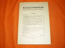 """Rivista """"Augustinianum""""  3,72"""