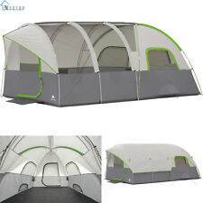 8 Person Modified Dome Tunnel Tent Ozark Trail Camping Outdoor Hiking Shelter