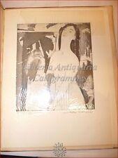 ARTE - ETCHINGS & LITHOGRAPHS of ARTHUR B. DAVIES 1929 Lito Originale Dedica Aut
