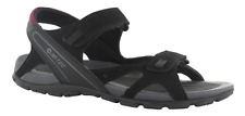 Mens HI-TEC Laguna Walking Trail Beach Touch Fasten Strap Sandals Sizes 7 to 12 UK 11 Black