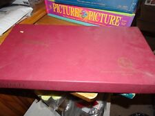 Vintage Complete 1953 Scrabble Game Selchow Righter Co. ~Wooden Tiles COMPLETE
