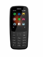Nokia 220 4G Black Dual SIM 4G LTE Unlocked Cell Phone - Brand New
