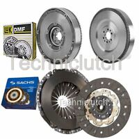 Sachs 2 Piezas Kit de Embrague y Luk Dmf para Ford Grand C-Max MPV 1.6 Tdci