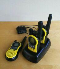 3 Motorola MH230TPR Walkie Talkies 2-Way Radios Dual Charger Batteries NOAA VOX