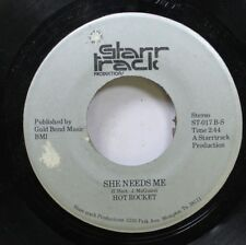 Hear! Private Power Pop Aor 45 Hot Rocket - She Needs Me / Get It On Tonite On S
