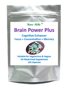 Powerful High Strength Nootropics Brain Booster Cognitive Enhancer Mental Focus