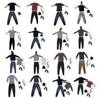 1/6 Male Clothing Outfits Accessory For 12'' Hot Toys  Action Figure Body