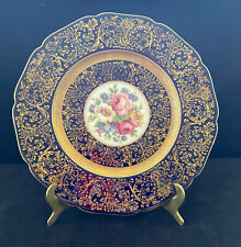 Antique Hand Painted Porcelain Plate - Possibly Coalport or John Rose Factory