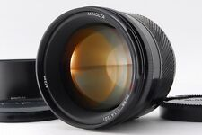 【B V.Good】 Minolta AF 85mm f/1.4 Lens for Sony Alpha Mount w/Hood JAPAN #3058