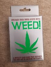 WEED THE CARD GAME DECK WEED! UNLEASH YOUR INNER HIPPIE BRAND NEW