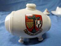 Vintage W H Goss Crested Ware China Barrel Crest of Chipenham