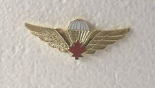 Large Canadian Paratrooper Wings Pin
