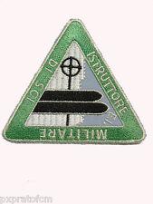 Patch Esercito Italiano Istruttore Militare di Sci Alpino per Mimetica Vegetata