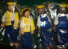 "Pottery Barn Kids Westport Village Play People, Set of 4, BOX 5.5"" Dolls Gift!"
