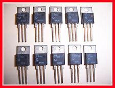 10-Pack SGS-THOMSON BTB10-400B 10A (10 AMP) 400V (400 VOLT) TO-220 TRIAC