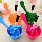 6 in1 DIY Face Mask Mixing Bowl Brush Spoon Stick Tool Facial Skin Care Set