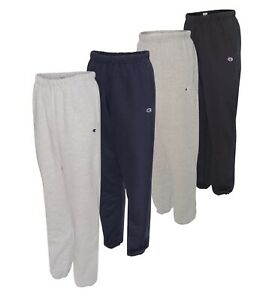 Champion Mens Pants Athletic Reverse Weave Sweatpants with Pockets RW10 - New