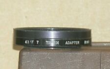 Tiffen Series 7 43 F 7 Screw-In Adapter with Retaining Ring