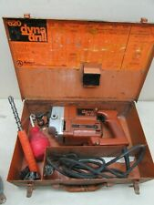 Vintage Ramset 620 Dyna Drill Concrete Hammer Case Runs