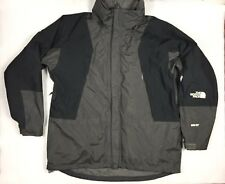 The North Face Gore-Tex Waterproof Jacket W/Lining Black Gray Men's Size XXL 2XL