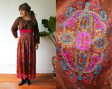 60s Authentic Psychedelic Hippie Dress//Folklore//Vintage Prairie