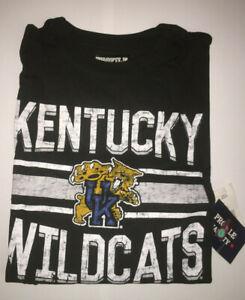 Men's Kentucky Wildcats Banner T-Shirt Black 2XL-3XL-4XL-5XL-6XL New NWT MSP $35