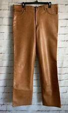 Kuhnhäuser Baden-Baden Leather Pants, Specialty Made, Yellow Submarine