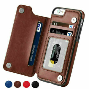 Case For Apple iPhone XS MAX 11 Pro 7 8 6Plus SE Leather Wallet Book Phone Cover