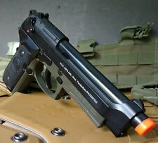 KJW CO2 blowback M9 A1 full metal airsoft gun two tone Beretta pistol C02 gbb