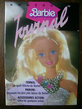 #19 French Barbie Journal Booklet Spring 1987 16 Pages