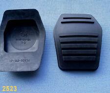 (2523) 2x PEDALI quello del freno in gomma Frizione Pedale Gomma Pedale Gomma 148-r5974