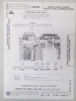 Sams Photofact Folder Parts Manual Emerson Remote Control Receiver 471665 471664