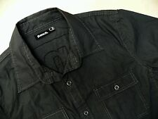 KS26 BENCH charcoal color shirt size L, great condition!